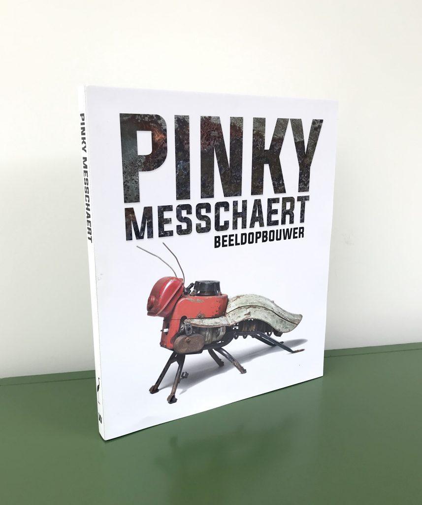 Boek Pinky Messchaert Beeldopbouwer